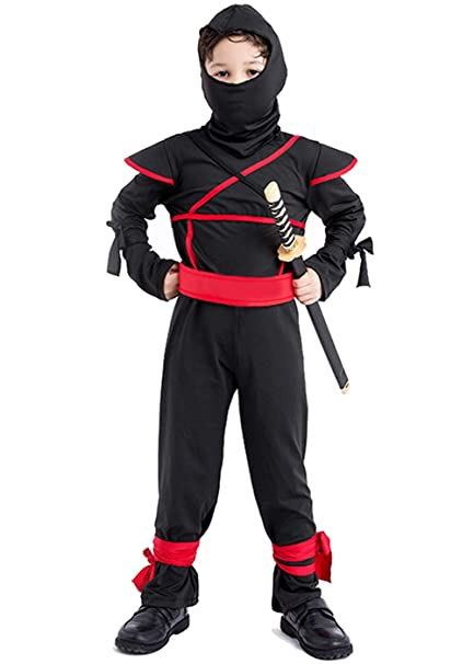 Amazon.com: Halloween Costume for Boys, Ninja Costume ...