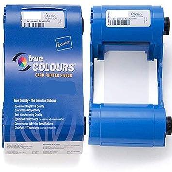 YMCKO 800033-840 - Cinta de Color para Impresora de Tarjetas ...