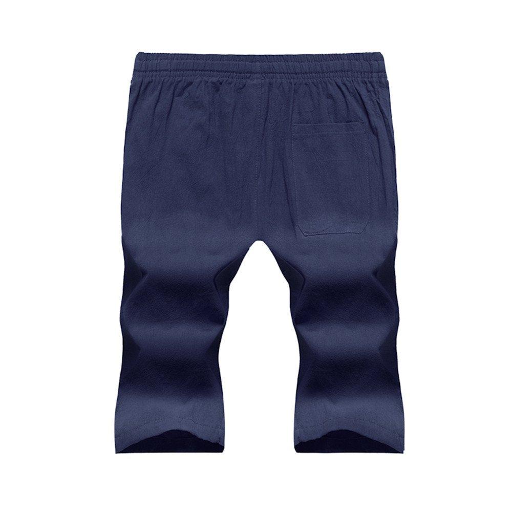 Pantalones Cortos Hombre Deporte Casual ♚ Absolute Pantalones Anchos Hombre Chandal Shorts Deportivos de Color sólido para Hombre Pantalones Pantalón Short ...