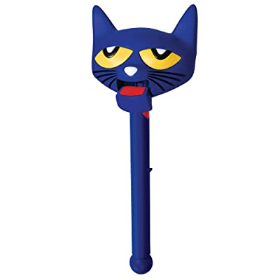 Educational Insights Pete The Cat Puppet-On-A-Stick: Toys & Games