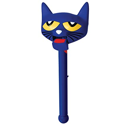 amazon com pete cat puppet on a stick toys games