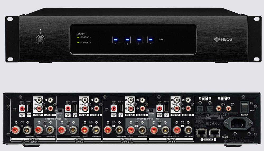 Denon HEOS Drive - Amplificador de audio (7.1, 60 W, D, 100-240 V, 50/60 Hz, 43 cm): Amazon.es: Electrónica