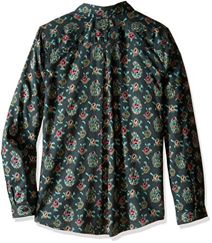 Hilo De Larga Manga Royal Spruce Robbins Camisa Impresión O6CPqw
