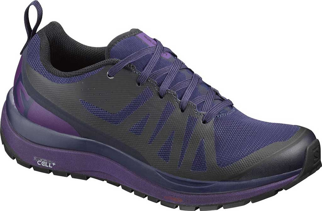 Salomon Women Odyssey Pro Low Hiking Shoes B01HD2VCYA 6.5 B(M) US|Evening Blue, Astral Aura, Acai