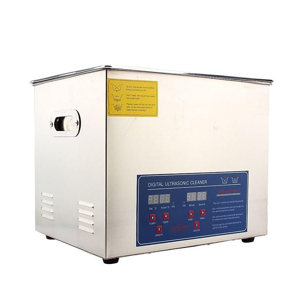 Pulitore Dispositivo Pulitore Digital 2L//3L//6L Cleaner in acciaio inossidabile Timer digitale per bijouex//Orologio//Occhiali//Bracciale//Paradenti 6L