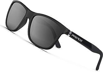 PAERDE Mens Driving Polarized Sunglasses for Men Al-Mg Metal Frame Ultra Light PA09