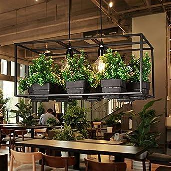 Einfache Moderne Restaurant Wohnzimmer Schlafzimmer Persönliche Kreative  Pflanzen Decke Kronleuchter