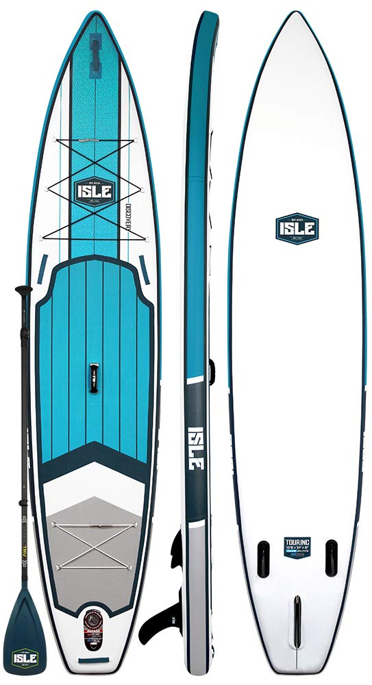 "ISLE 12'6"" Discovery  Inflatable Stand Up Paddle Board"