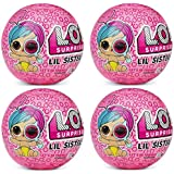 L.O.L. Surprise! Eye Spy Series Wave 2 Lil Sister - Pack of 4