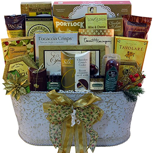 Resounding Joy Gift Basket (White)