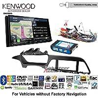 Volunteer Audio Kenwood Excelon DNX994S Double Din Radio Install Kit with GPS Navigation Apple CarPlay Android Auto Fits 2015 Hyundai Sonata