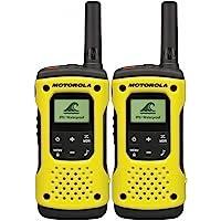 Motorola TLKR T92H2O PMR Émetteur-Récepteur sans Fil (IP67, Résistant aux Intempéries, Portée Jusqu'à 10Km)