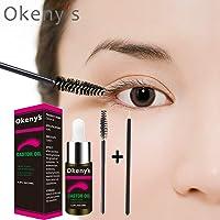 Castor Oil Lavish Lash –MaxBeauty Eyelash Growth Enhancer & Brow Serum for Long, Luscious