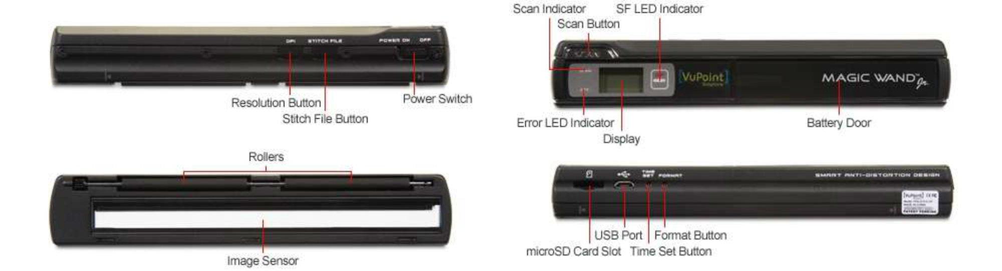 VuPoint PDS-ST510-VP Receipt Scanner