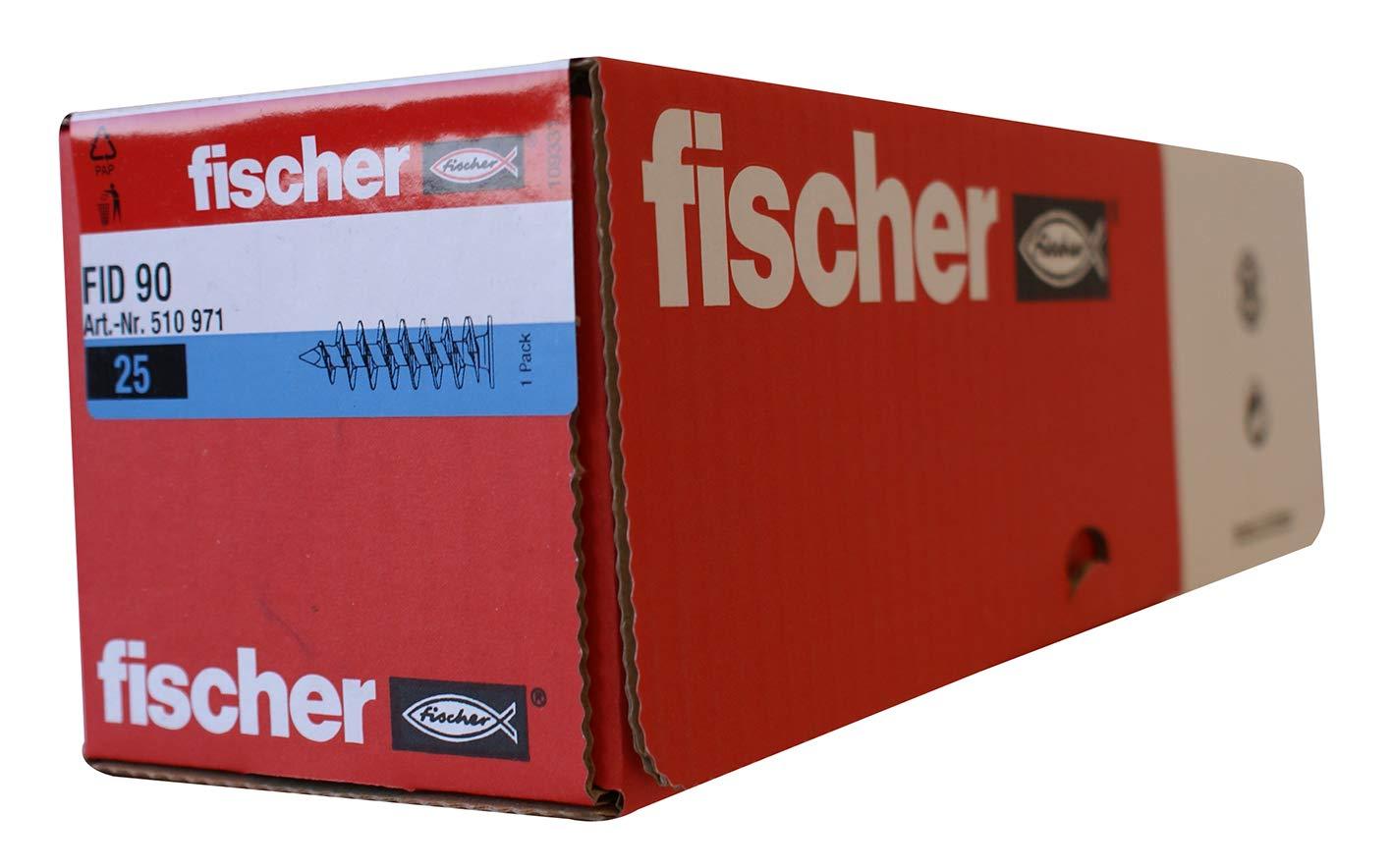 Fisher 48213 FID 50 - Rosca de fijació n aislante, pack de 50 unidades Fischer 48213*50