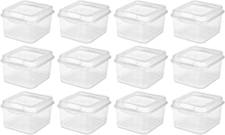 product image for Sterilite Fliptop Box, Clear Case of 12