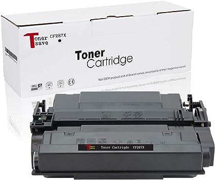 Compatible CF287X 5-Pack Toner Cartridge for HP LaserJet MFP M527Z M506DN MFP