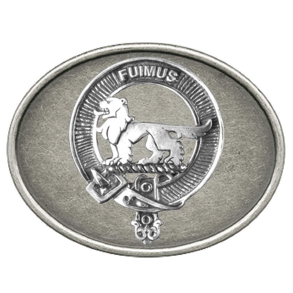 Bruce Scottish Clan Badge Pewter