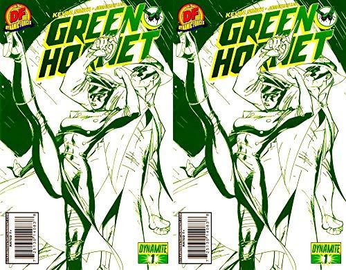 - Green Hornet #1 Dynamic Forces J. Scott Campbell Cover Volume 4 (2010-2013) Dynamite Comics - 2 Comics