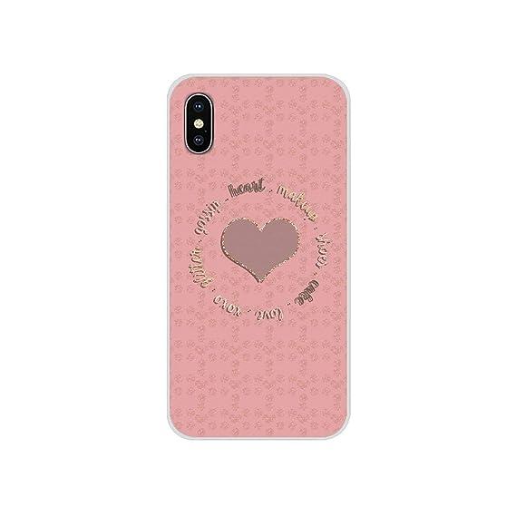 Amazon Com Phone Shell Cover Rose Gold Glitter Sparkles