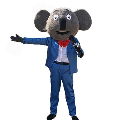 Koala Bear Sing Buster Moon Movie Cosplay Cartoon Character Adult Mascot Costume  sc 1 st  Amazon.com & Amazon.com: Koala Bear Sing Buster Moon Movie Cosplay Cartoon ...