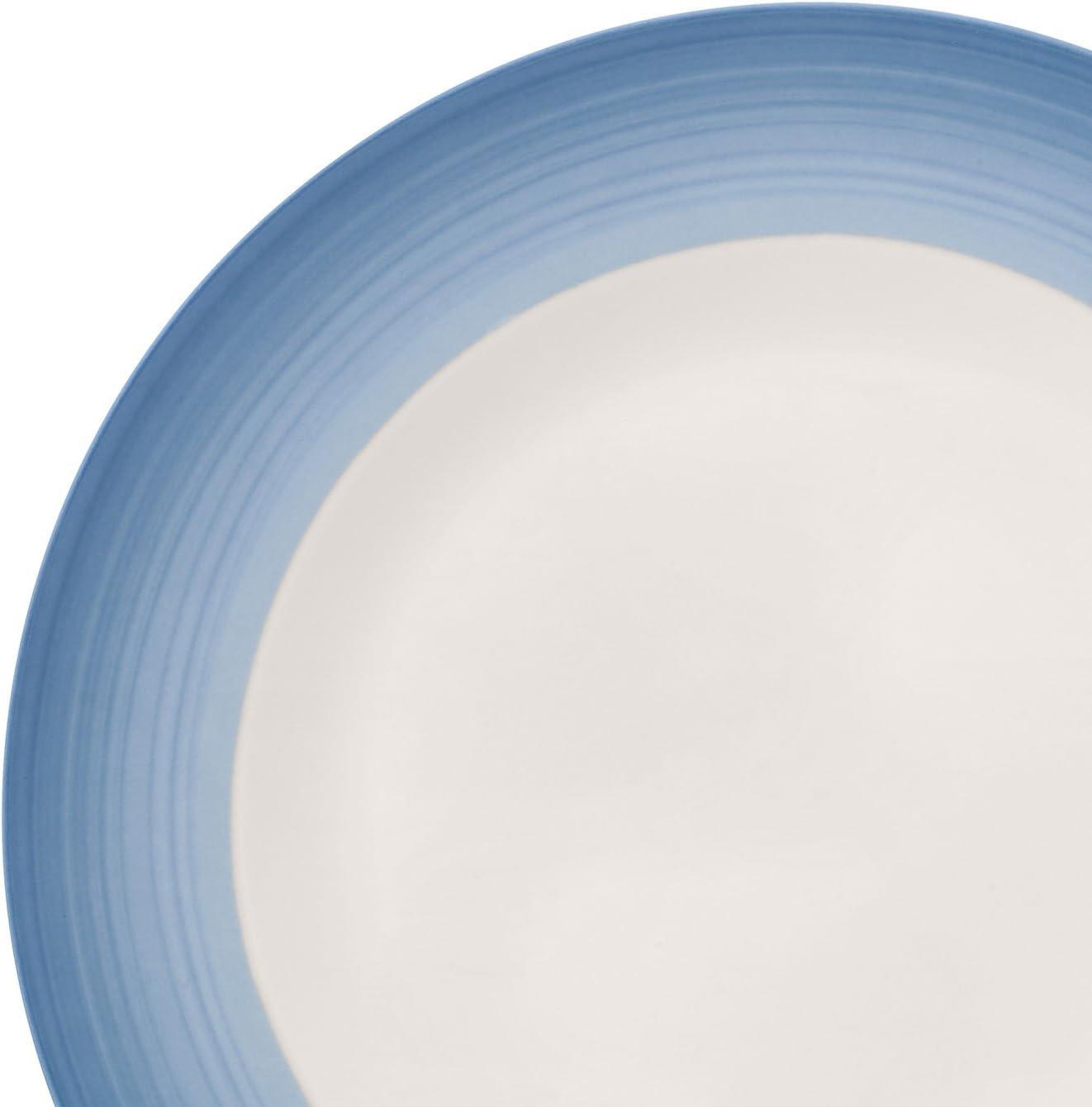 Porcelana Premium Villeroy /& Boch Colourful Life Cosy Grey Plato llano 27 cm Blanco//Gris