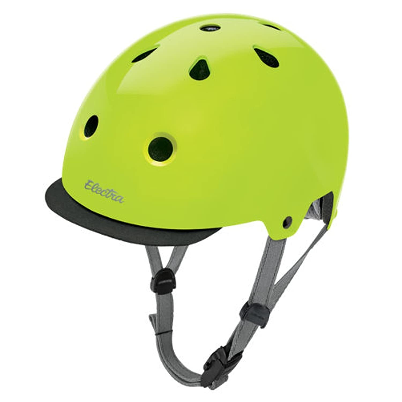 Electra Bike und Skate Helm 'Lime' Solid Farbe Helmet