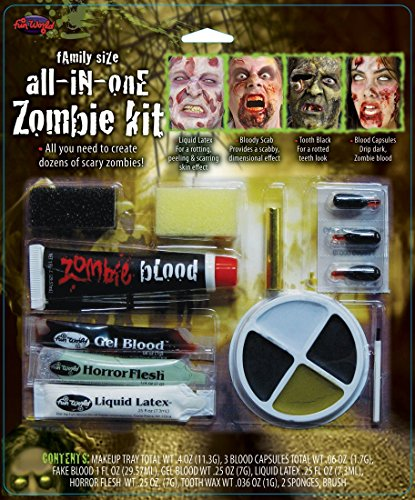 Family Size All in One Zombie Kit Costume Makeup]()