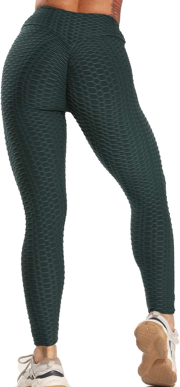 FITTOO Mallas Pantalones Deportivos Leggings Mujer Yoga Alta Cintura Gran Elásticos Fitness