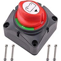 LotFancy Interruptor Desconexión de Aislador de Batería Impermeable