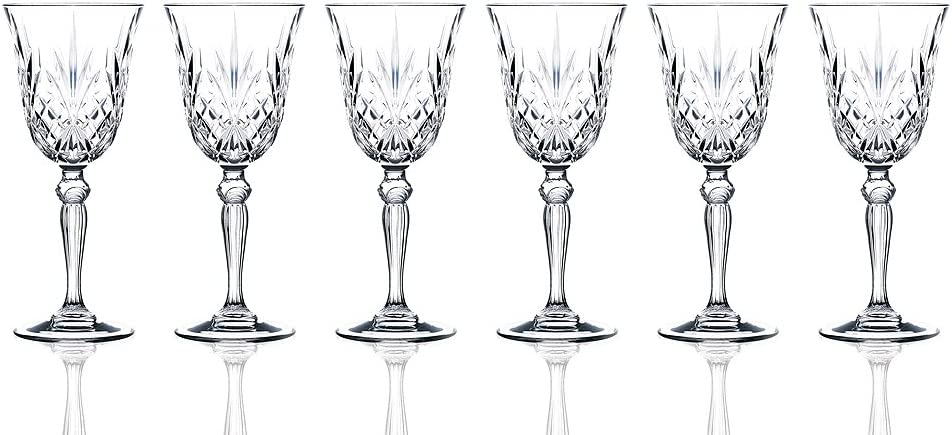 RCR Crystal Water Glass set of 6 Lorren Home Trends