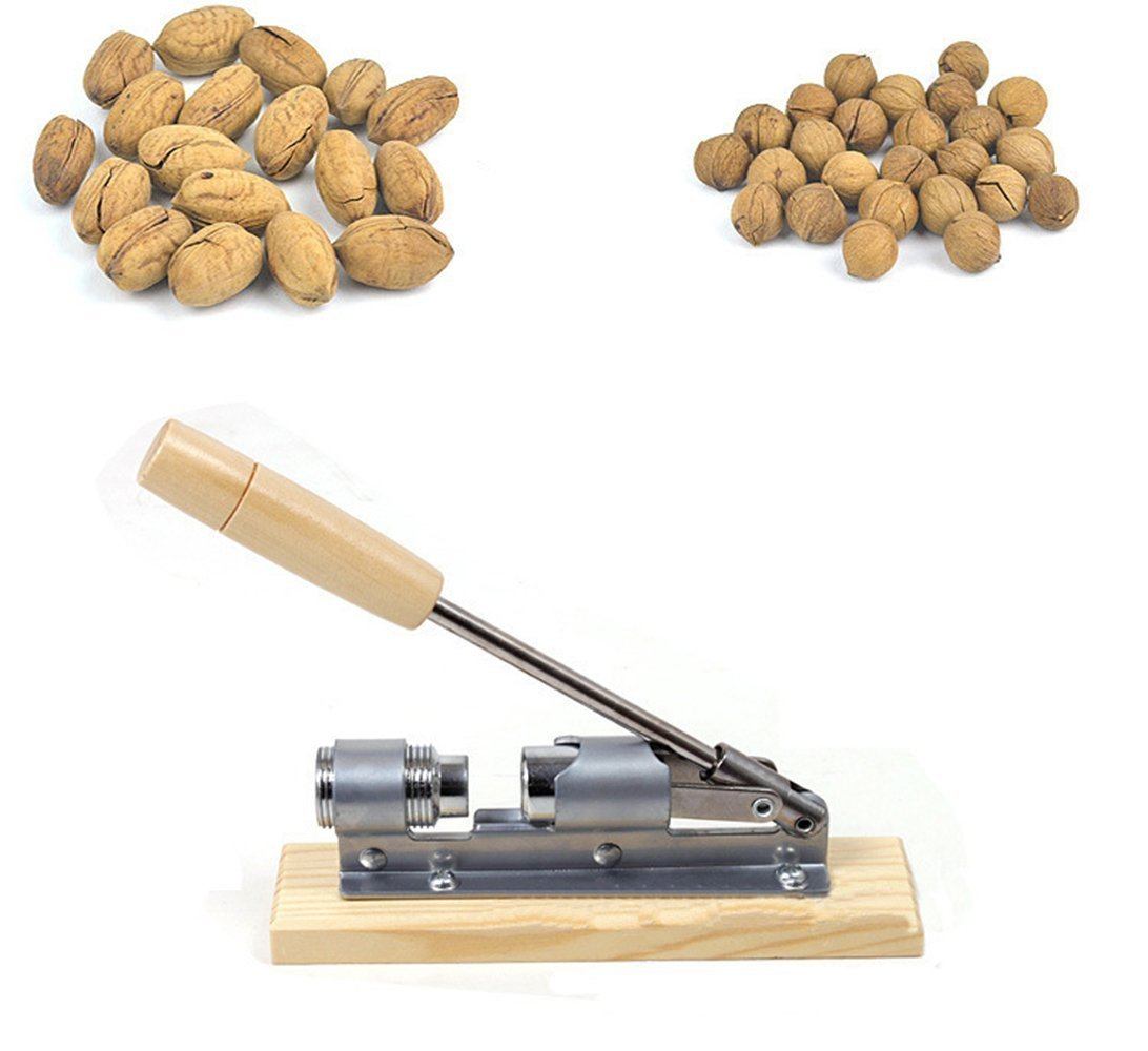 MyLifeUNIT Heavy Duty Nut Cracker Pecan Nut Cracker
