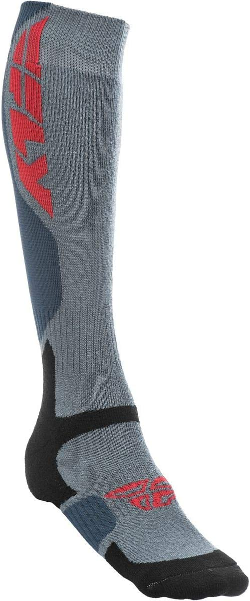 Fly Racing MX Thick Mens Offroad Socks Red//Black