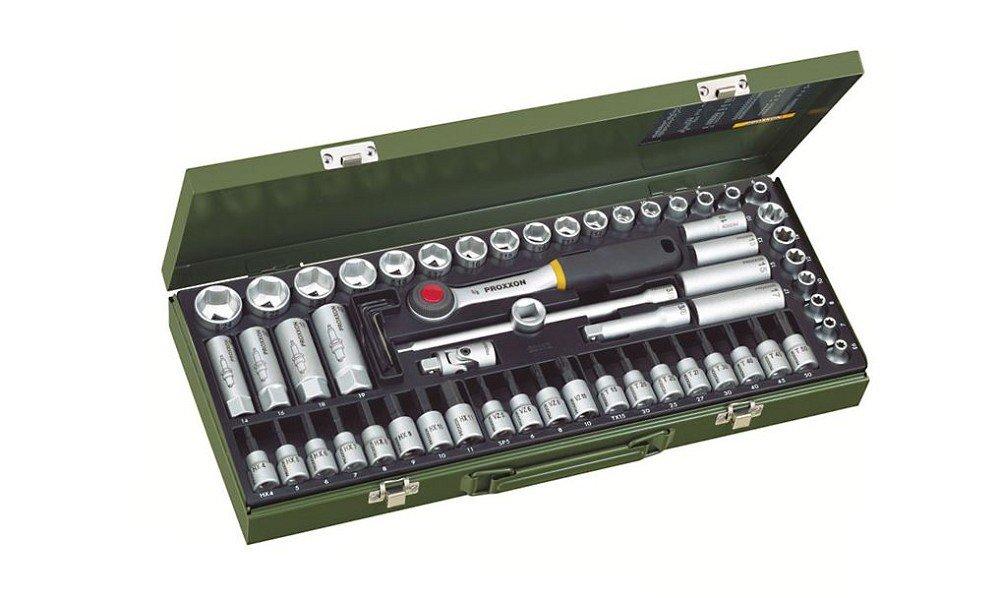 Proxxon Industrial Steckschlüsselsatz metrisch 3/8 (10 mm) 65teilig 23112