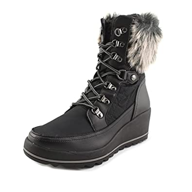 GUESS Womens Leland Round Toe MidCalf Cold Weather Boots