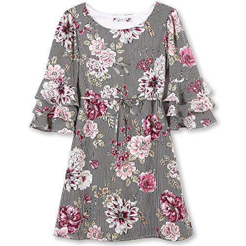 Speechless Girls Tiered Sleeve Dress product image