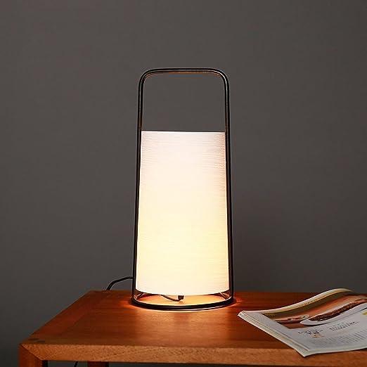 Homelx Estilo Moderno japonés Diseño Original Lámpara de Mesa ...
