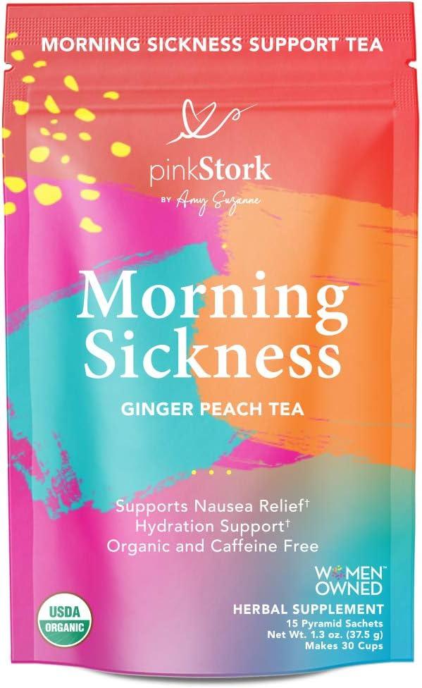 Pink Stork Morning Sickness Relief Tea