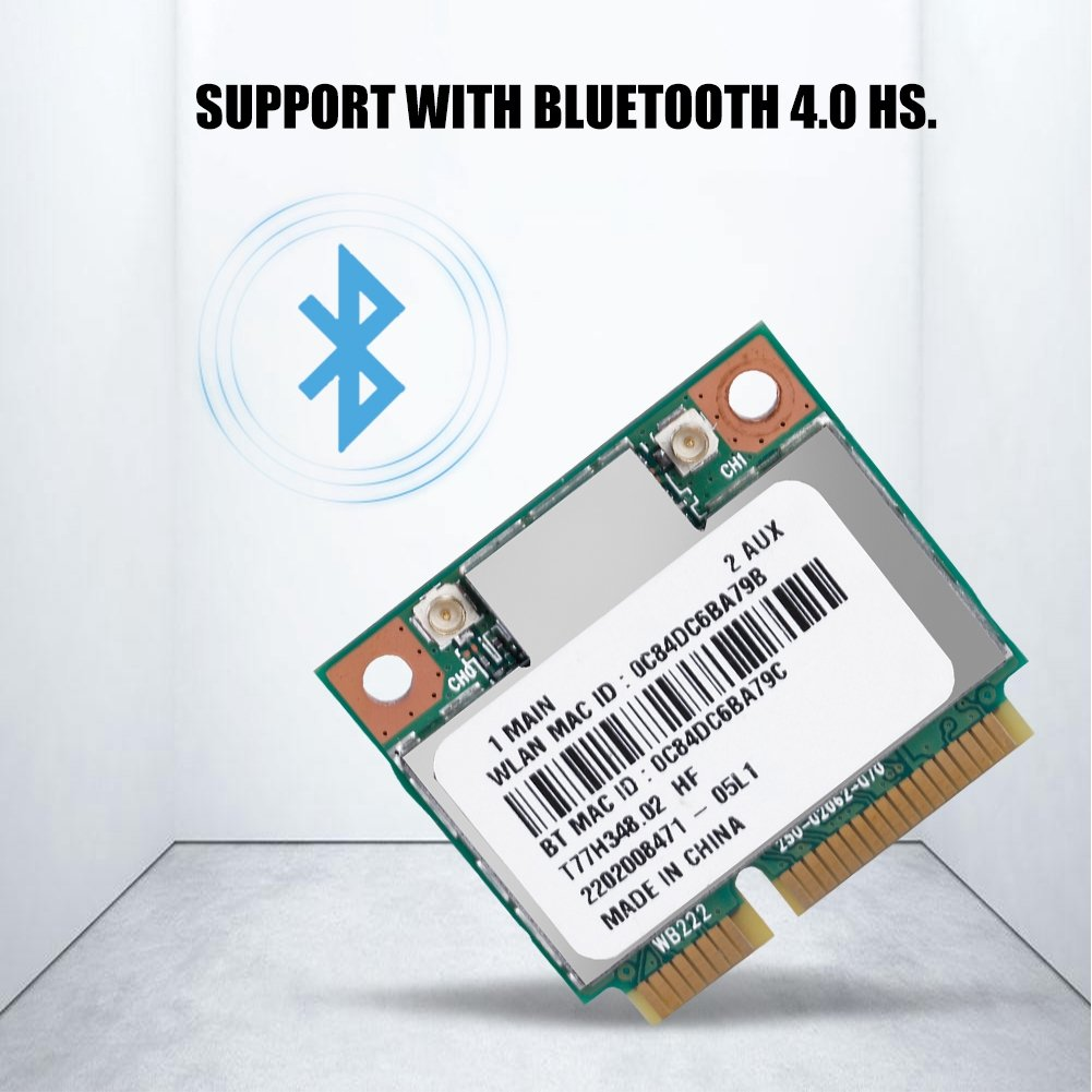 Amazon.com: ASHATA Atheros WiFi Card, WiFi Bluetooth Card ...
