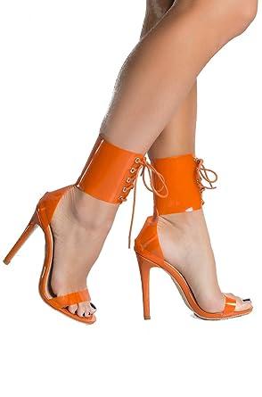 Sexy orange heels