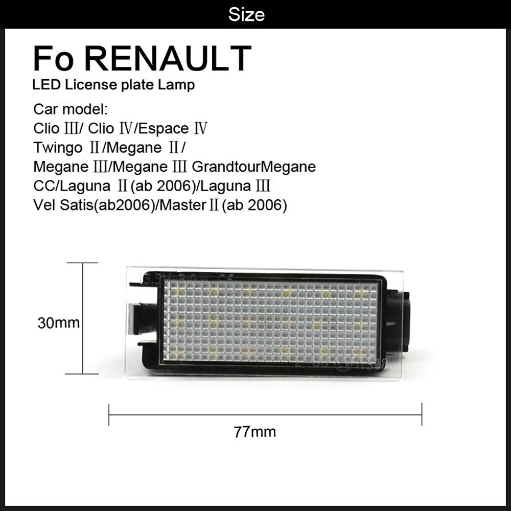 Beleuchtung Platte Lampe Fuumlr Renault Clio Espace Twingo Megane Vel Satis Wiring Diagram Grandtour Laguna Satismaster Auto