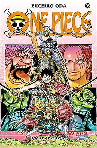 One Piece 95 Mit Poster In Der Ersten Auflage Amazon De Oda Eiichiro Bockel Antje Bucher