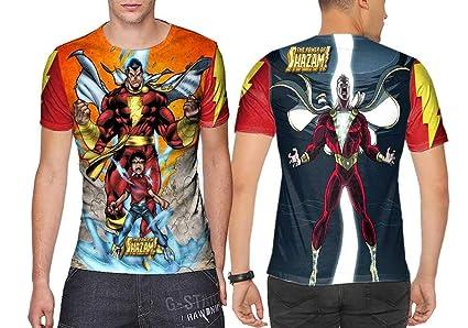 449295653 Amazon.com : DC Shazam! Fans Art Man TOP Fullprint Sublimation Size ...