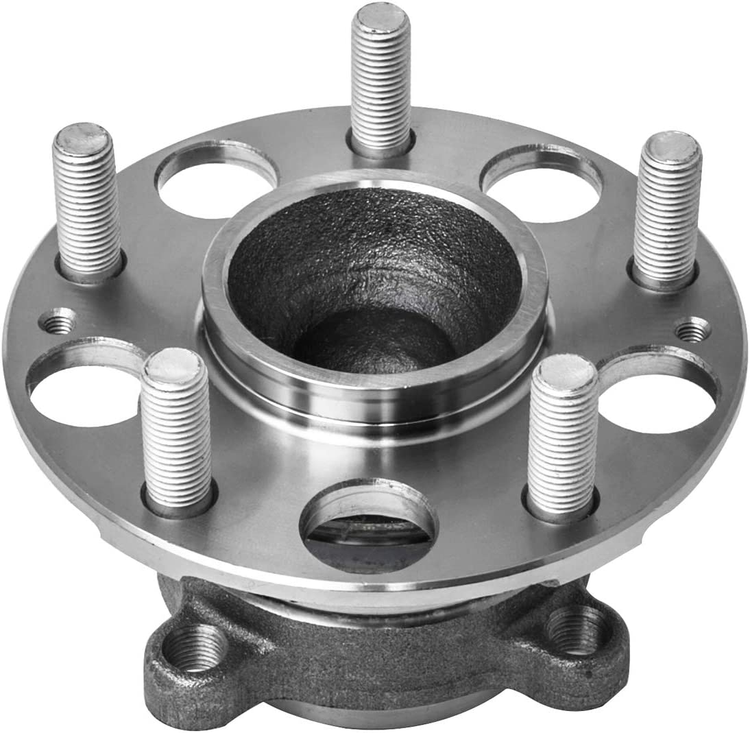 TUCAREST 512353 Rear Wheel Bearing and Hub Assembly Compatible With 2009 2010 2011 2012 2013 Acura TSX 08 09 10 11 12 Honda Accord 5 Lug Hub