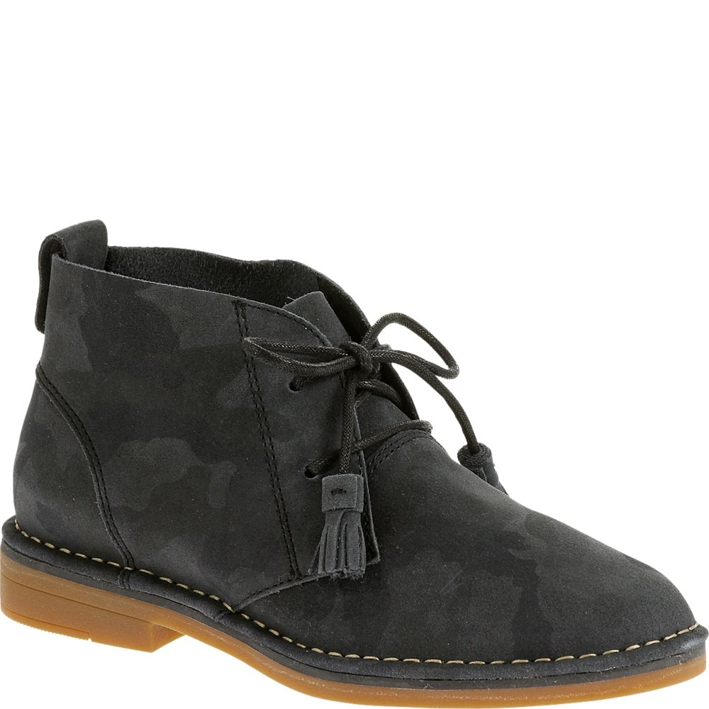 Hush Puppies Cyra Catelyn - Botas Mujer9 B(M) US|Black Camo Suede