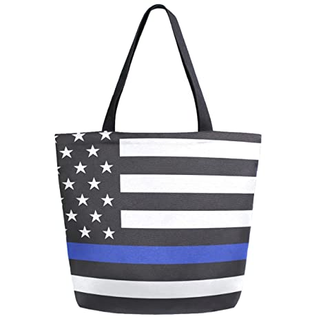 42cc70e34d6f Amazon.com: ZzWwR American Police Flag Print Extra Large Canvas ...