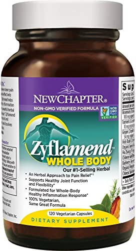 New Chapter Zyflamend Whole Body, with Turmeric and Ginger – 120 ct by New Chapter