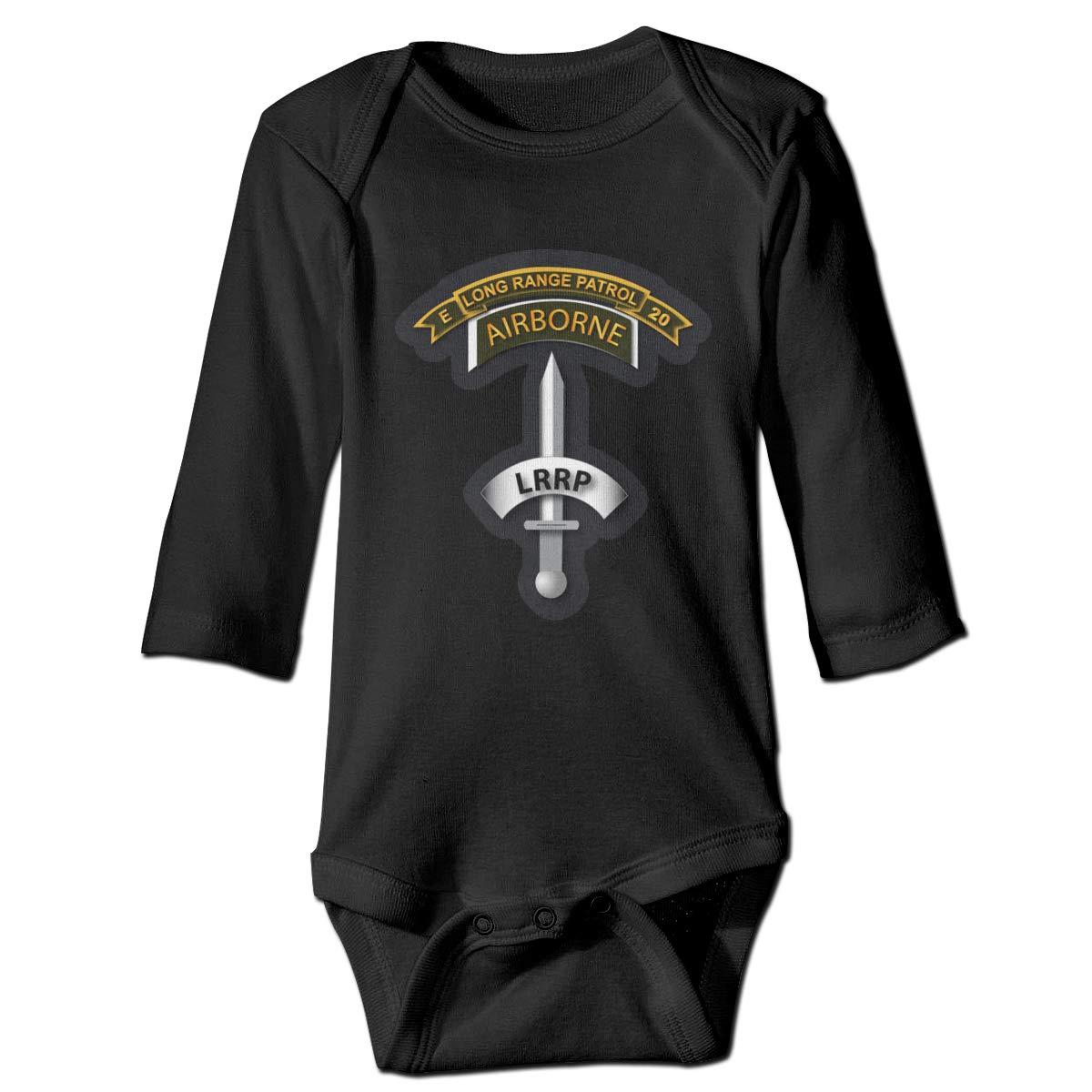 Co E 20th Inf LRRP Baby Long Sleeve Bodysuits Vietnam