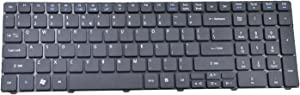 Eathtek Replacement Keyboard for Acer 5560 5560G 5625 5741G 5745G 5733 5736 5750Z 7739ZG 7741G eMachines E440 E443 E529 E640 E730ZG E732 E732G G443G G640 G729 G730 G730G G730Z Series Black US Layout
