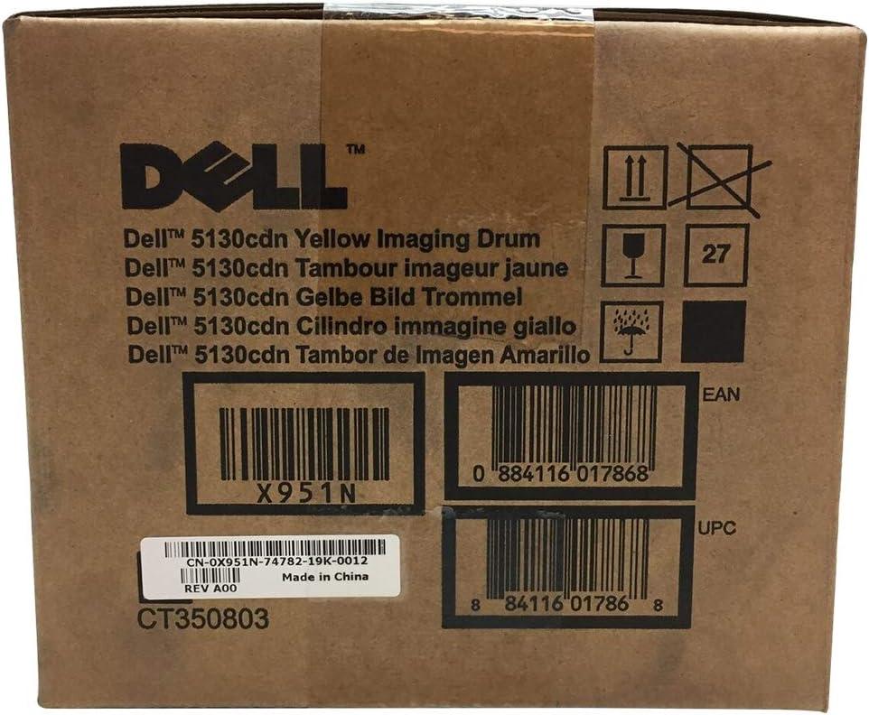 Genuine Dell X951N Yellow Imaging Drum Unit
